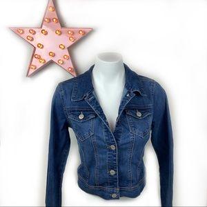 WAX JEAN Denim Jacket Soft Stretchy Small